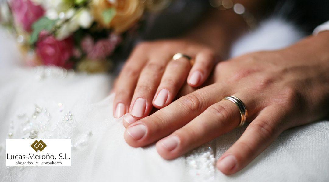 Diferencia legal entre matrimonio o pareja de hecho
