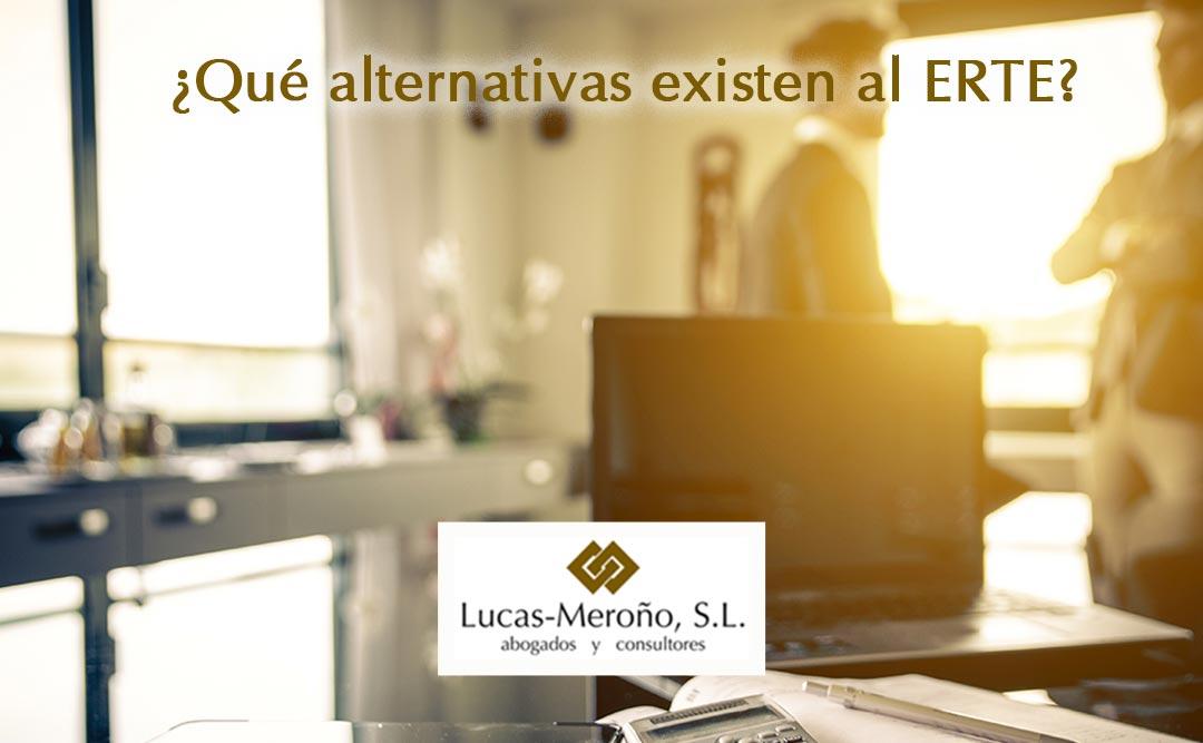 ¿Qué alternativas existen al ERTE?